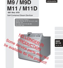 midmark m9 m11 service manual [ 2550 x 3300 Pixel ]