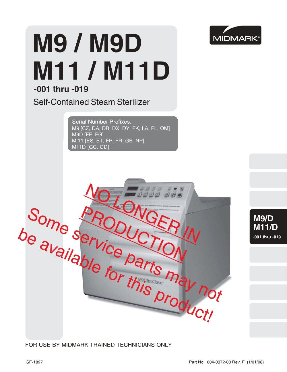 medium resolution of midmark m9 m11 service manual