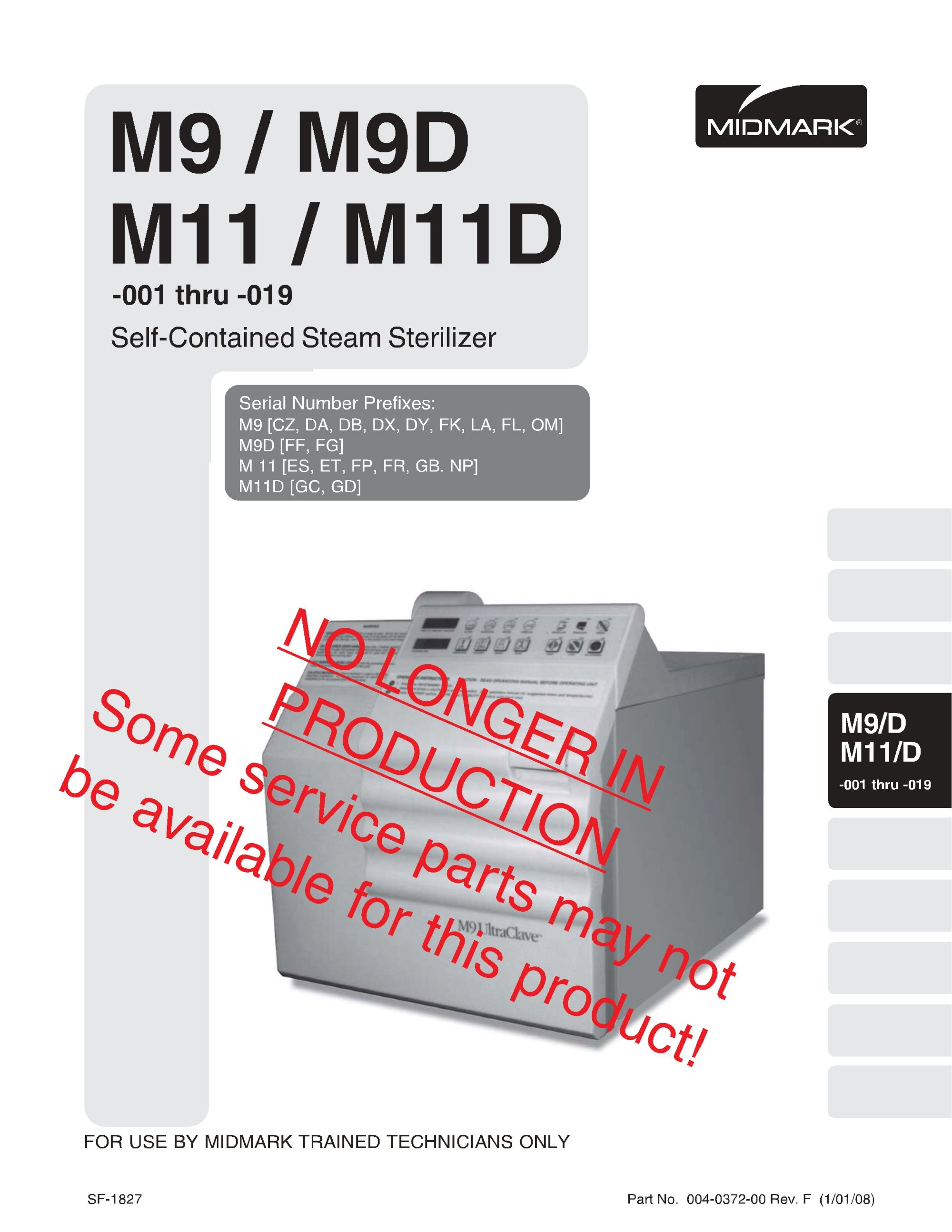 hight resolution of midmark m9 m11 service manual