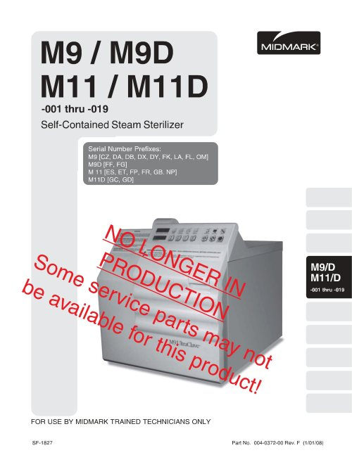 small resolution of midmark m9 m11 service manual