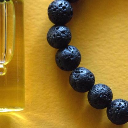 Essential Oil Bracelet | Golden Blue