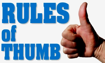 Thumb-rules for the opening stage