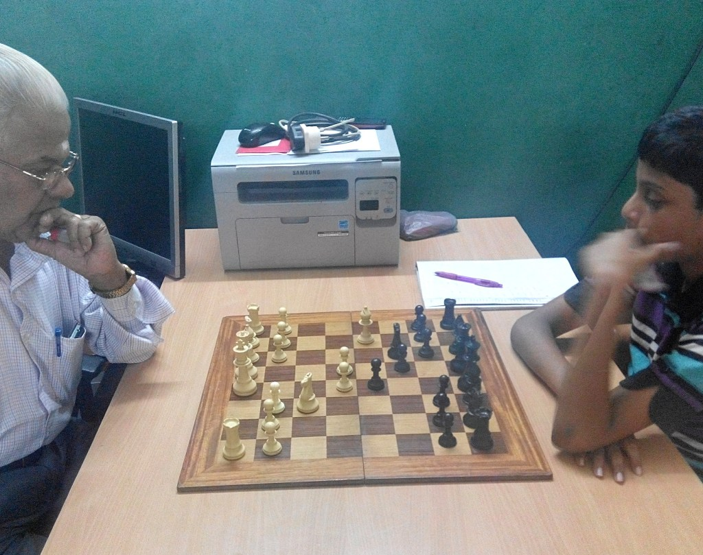 intermediate chess player study