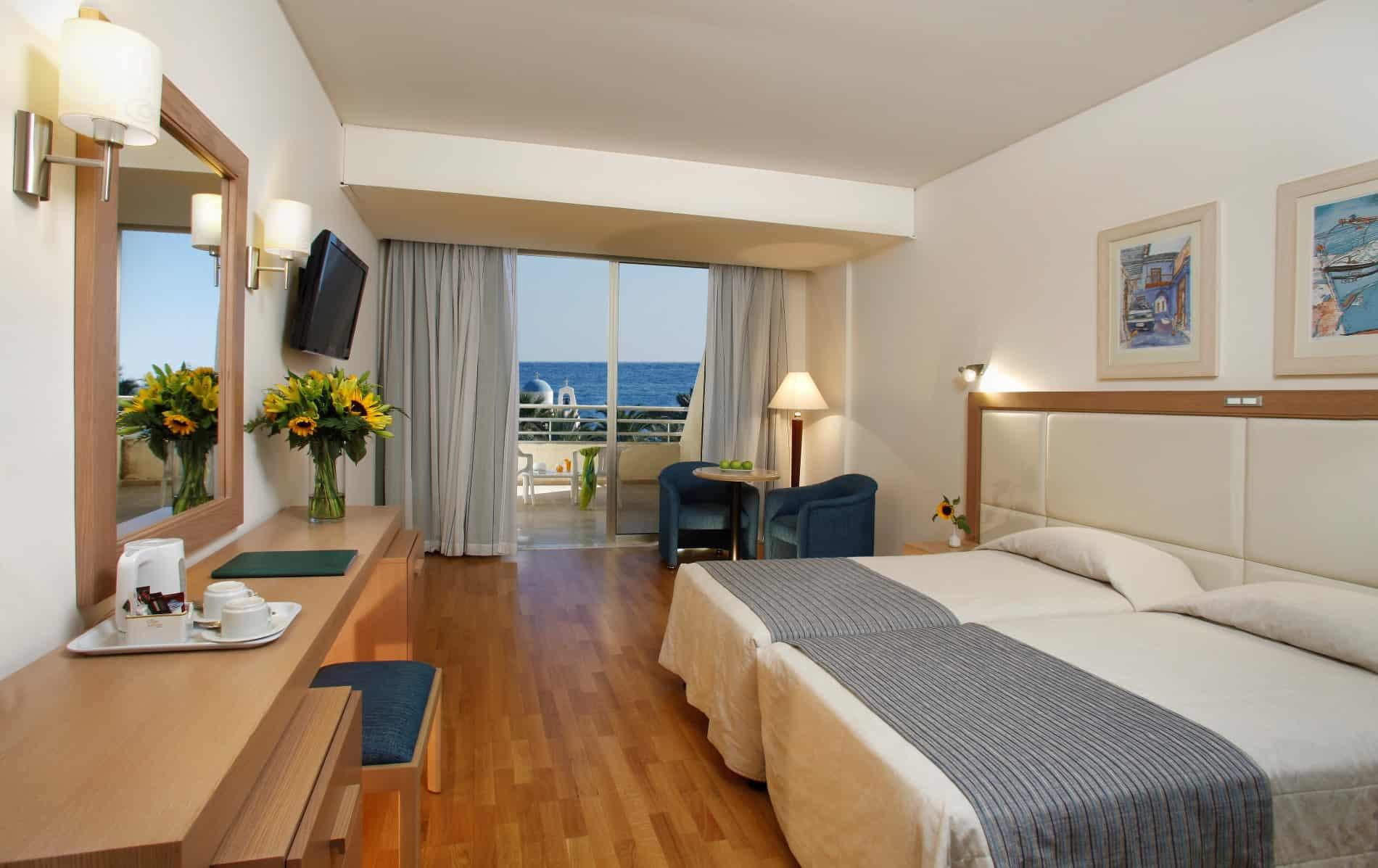 Golden Coast Beach Hotel in Protaras  Superior Sea View Room