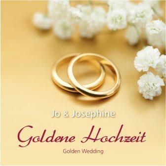 Goldene Hochzeit  Golden Wedding CD  Hochzeitsjubilen