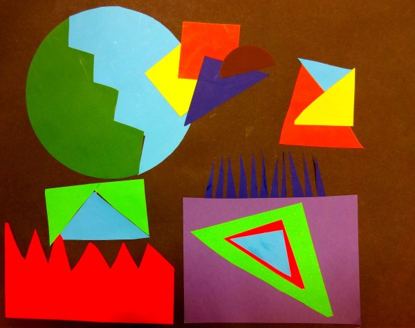 Geometric Shape Art Golden Eagle Class