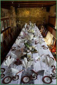 Cafe - Tafel für Hochzeit oder Hochzeitstag eingerichtet 30 PAX (30)