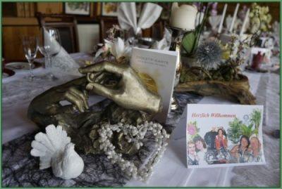 Cafe - Tafel für Hochzeit oder Hochzeitstag eingerichtet 30 PAX (8)
