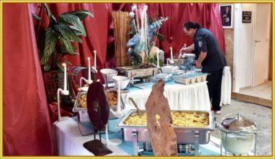 Catering in einer alten Tischlerei (36)
