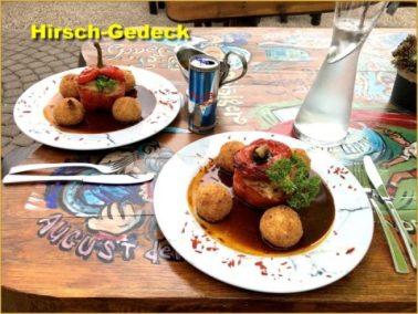Essen - gefüllte Paprikaschote