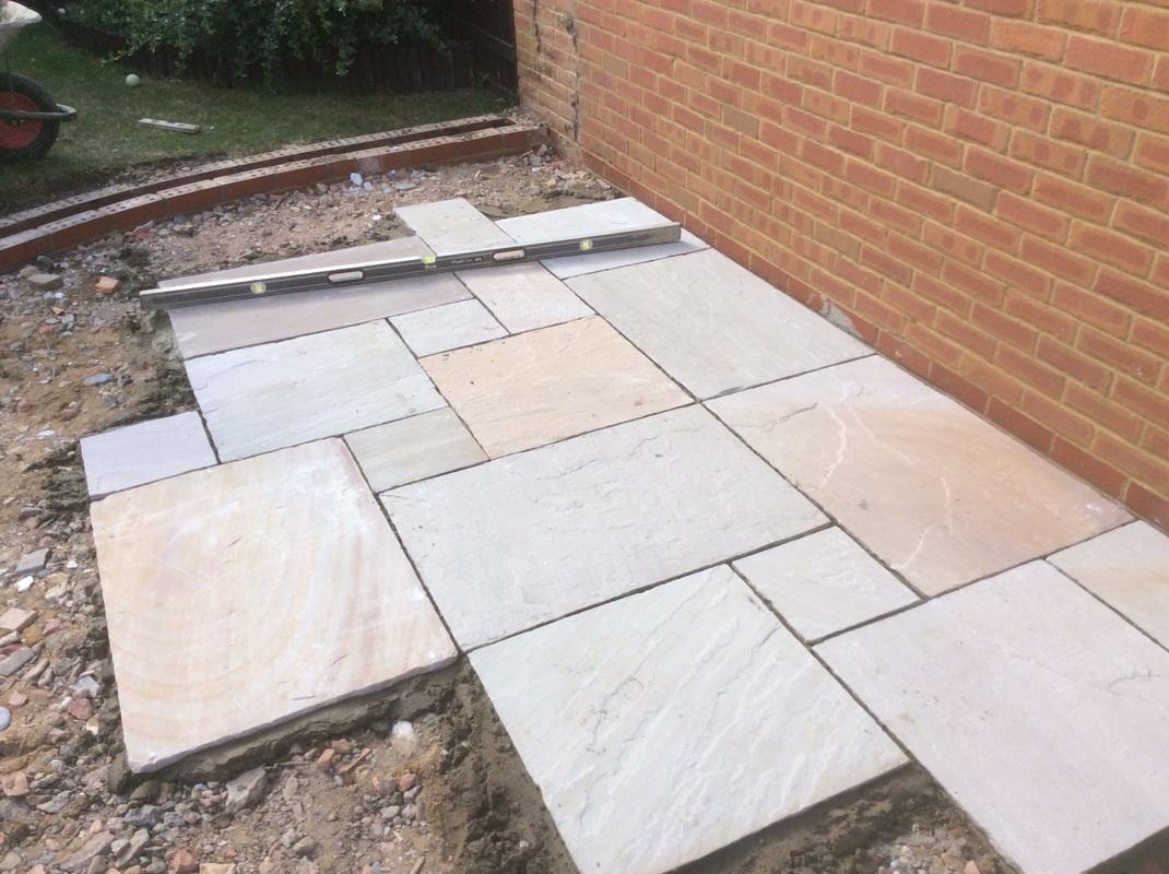 Building Raised Garden Path