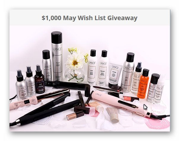 $1,000 May Wish List Giveaway