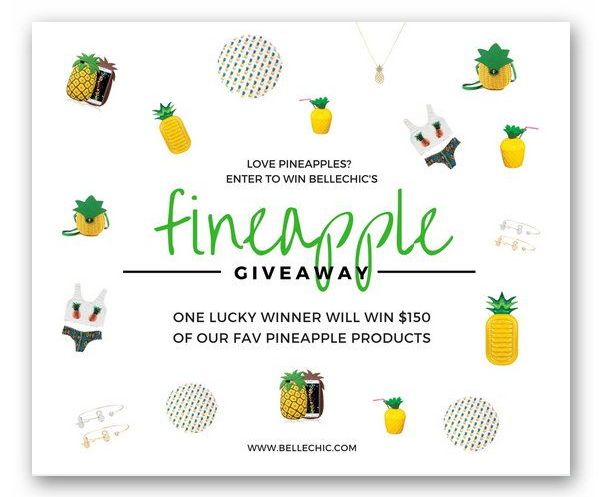 BelleChic's Fineapple Pineapple Giveaway