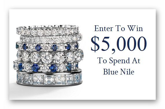 Blue Nile $5,000 Spring Sweepstakes
