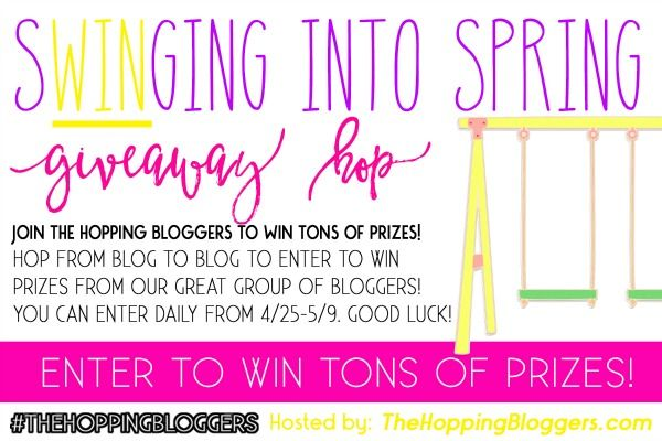 Swinging into Spring Giveaway Hop