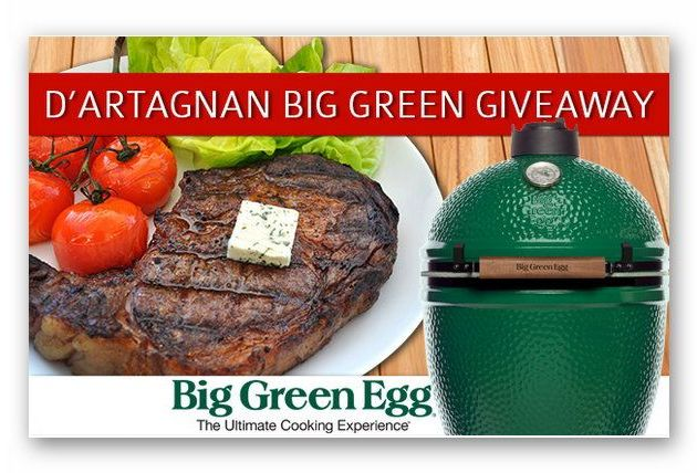 D'Artagnan Big Green Egg Giveaway