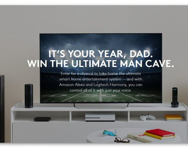 Logitech Father's Day Man Cave Sweepstakes