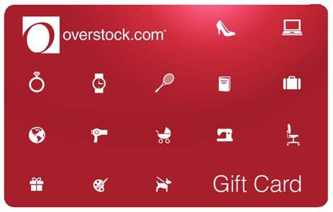 Win a $100 Overstock Gift Card