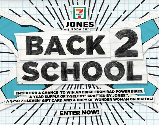 "Jones Soda 2017""Back to School"" Giveaway"