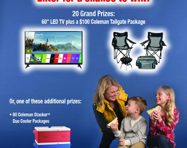 "Land O'Frost ""Score Big For Your Home Team"" Sweepstakes"