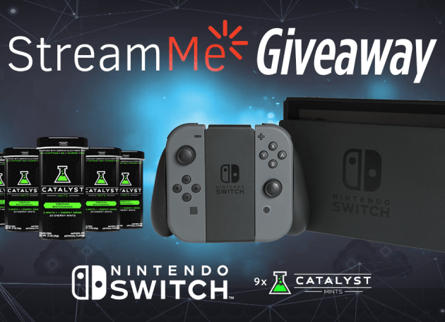 StreamMe Nintendo Switch Giveaway