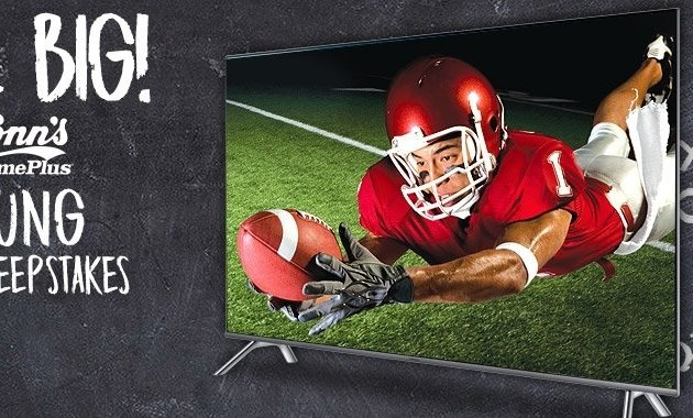 "Conn's - Win a Samsung 82"" 4K Smart TV"