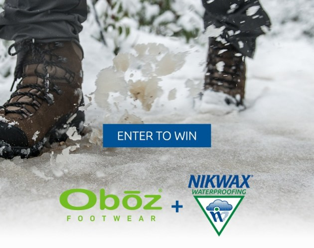 Oboz -Dry and Toasty Toes Sweepstakes