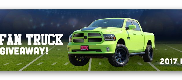Dave Smith Motors' #1 Fan Truck Giveaway
