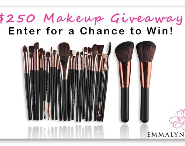 $250 Makeup Brush Set Giveaway