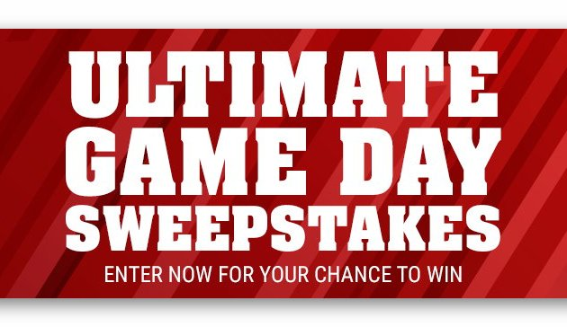 Schwan's Ultimate Game Day Sweepstakes