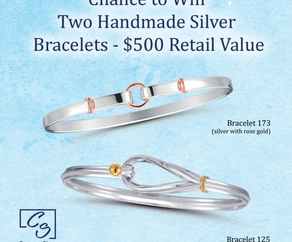 Two Handmade Silver Bracelets Giveaway