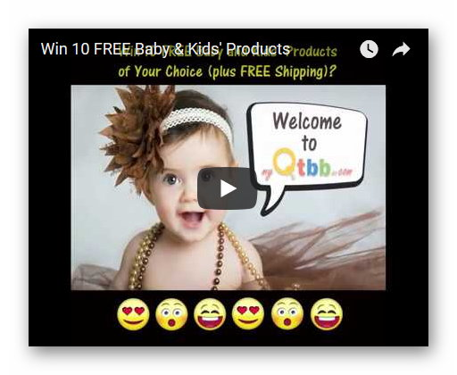 Win 10 FREE Baby and Kids' Products Giveaway