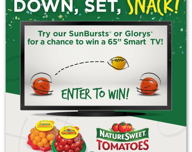 NatureSweet Snacking for the Big Game Sweepstakes
