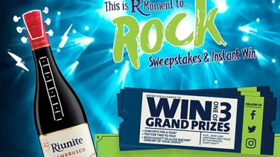 Riunite Moment to Rock Instant Win and Sweepstakes