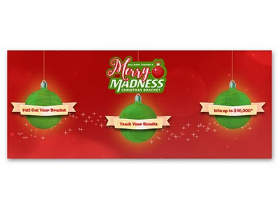 Hallmark Channel Merry Madness Christmas Bracket