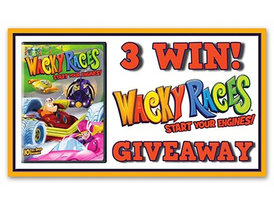 Hanna Barbara Wacky Races DVD Giveaway