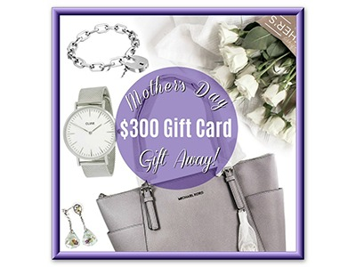 Win a $300 Mother's Day MyGiftStop Gift Card Giveaway