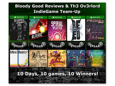 Win 1 of 10 Games for Steam/Xbox One