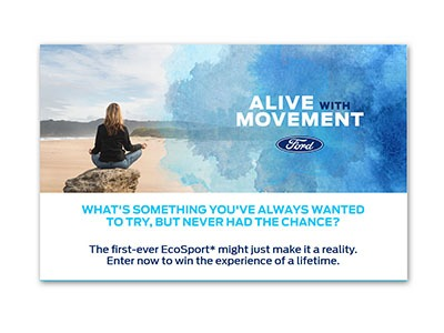 Ford Alive with Movement Giveaway