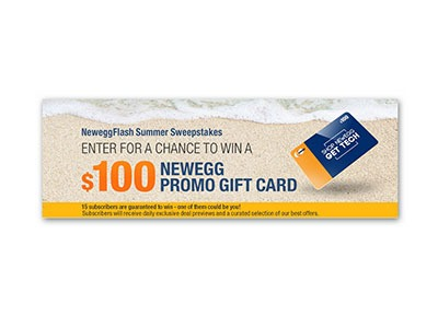 Win a $100 NewEgg Gift Card