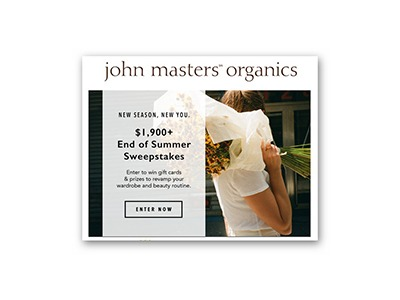 John Masters Organics End of Summer Sweepstakes