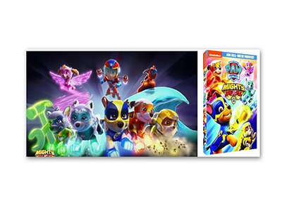 Win a Paw Patrol Mighty Pups DVD