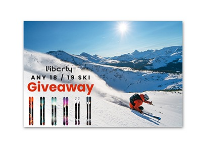 Win a Pair of Liberty Skis