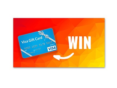 Win a $150 Visa Gift Card