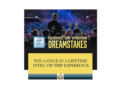 Intel Dreamstakes VIP Experience