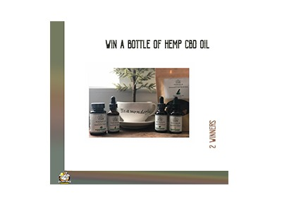 Win Hemp CBD Oil Giveaway