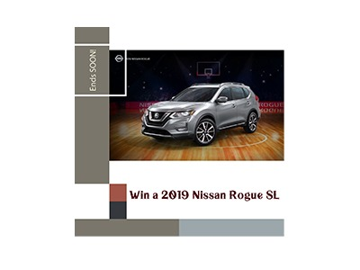 Win a 2019 Nissan Rogue