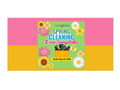 Spring Cleaning Cash Sweepstakes