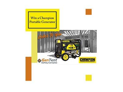Win a Portable Generator