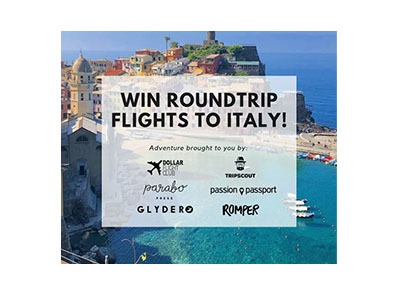 Win Roundtrip Flights to Italy
